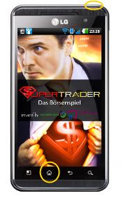 LG Optimus Screenshot