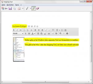 Screenshot überarbeitet